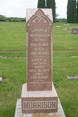 Mary Ann <i>Bush</i> Morrison
