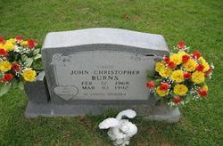 John Christopher Chris Burns