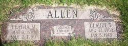 Leatha M Allen