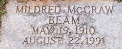 Mildred <i>McCraw</i> Beam
