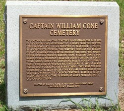 Old William Cone-Barber Family Cemetery