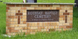Rothsay Baptist Cemetery
