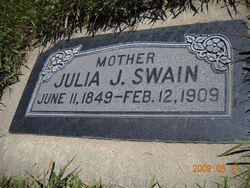 Julia Ann <i>Johnson</i> Swain