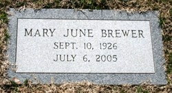 Mary J. <i>Cabbage</i> Brewer