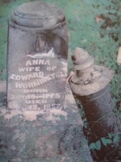 Nancy Anna <i>Hassell</i> Wormington