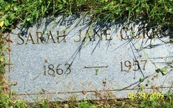 Sarah Jane <i>Marrs</i> Curry
