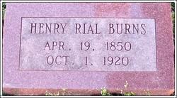 Henry Rial Burns