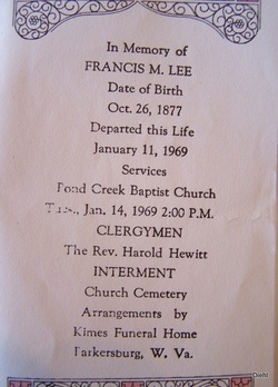 Francis Marion Lee