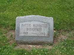 Harriett Belle Hattie <i>Jones</i> Dierdorff