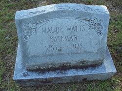 Maude <i>Watts</i> Bateman