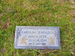 Caroline D. <i>Dunnam</i> Holder