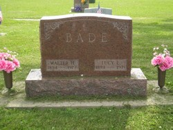 Lucy <i>Wetmore</i> Bade