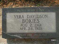Vera <i>Davidson</i> Bokies