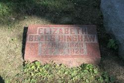 Elizabeth <i>Beals</i> Hinshaw