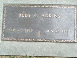 Ruby G <i>Strohm</i> Adkins