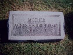 Agnes <i>Major</i> Hursey