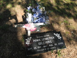 Pinkie <i>Ledbetter</i> Williams