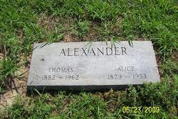 Alice <i>Green</i> Alexander
