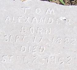 Thomas R. Tom Alexander