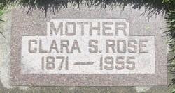 Clara Loduska <i>Sanders</i> Rose