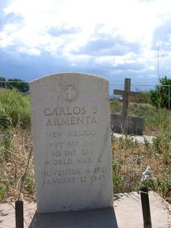Pvt Carlos S. Armenta