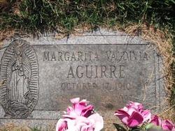 Margarita <i>Valdivia</i> Aguirre