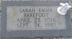 Sarah Emma Barefoot