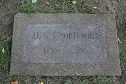 Alice Amanda <i>Case</i> Borthwick