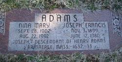Nina Mary <i>Paschall</i> Adams