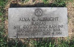 Alva C Albright