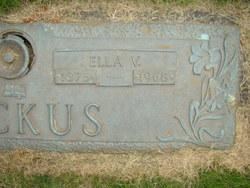 Ella Victorine <i>Hillhouse</i> Backus