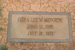Cora Lee <i>Walker</i> Monroe