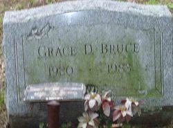 Grace D Bruce