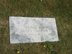 Hyacinth R. 'Peggy' <i>Sloan</i> Shaffer