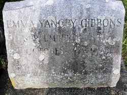 Emma <i>Yancey</i> Gibbons