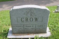 Frank H Crow