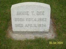 Annie <i>Taylor</i> Dee