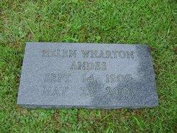 Helen <i>Wharton</i> Andes