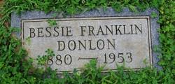 Bessie <i>Franklin</i> Donlon