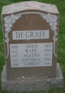 Mary <i>Smit</i> DeGraff