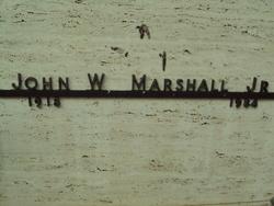 John W Marshall, Jr