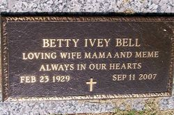 Betty Ivey Bell