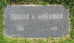 Chester Arthur Alexander