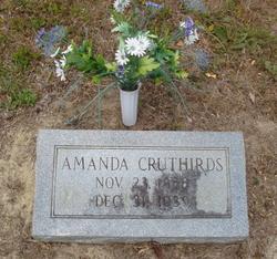 Amanda Mandy Cruthirds