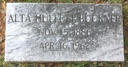 Alta F. <i>Hullett</i> Buckner