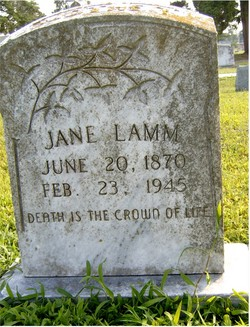 Jane <i>Carter</i> Lamm