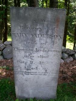 Mary <i>Ely</i> Anderson