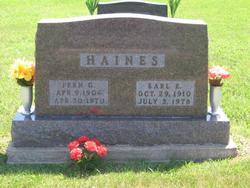 Earl Edward Haines
