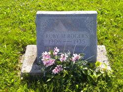 Ruby M <i>Robinson</i> Rogers