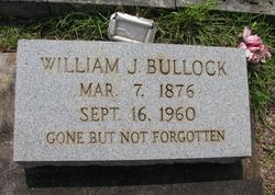 William James Bullock